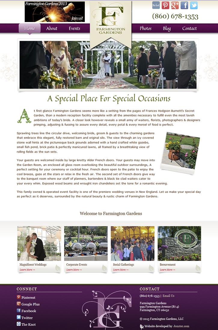 Farmington Gardens Homepage