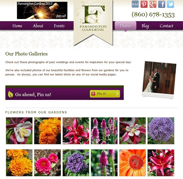 A Farmington Gardens Photo Gallery Page