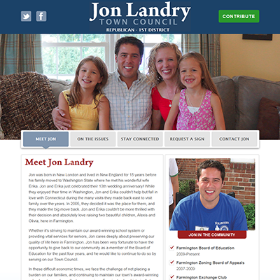 Elect Jon Landry
