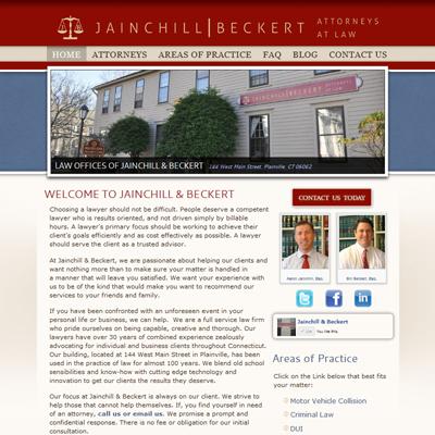 Jainchill and Beckert